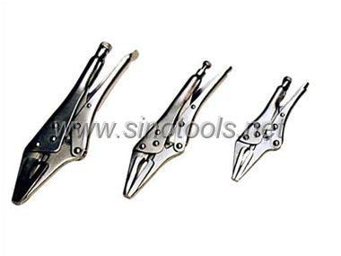 3pcs/Set Lock-Grip Plier D Type