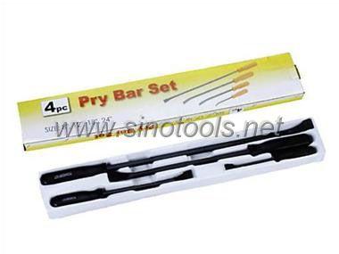 4 PC Pry Bar Set