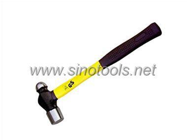 British Type Ball Pein Hammer with Wooden Handle
