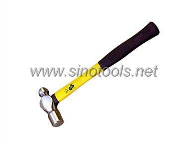 American Type Ball Pein Hammer with Fiber Glass Handle